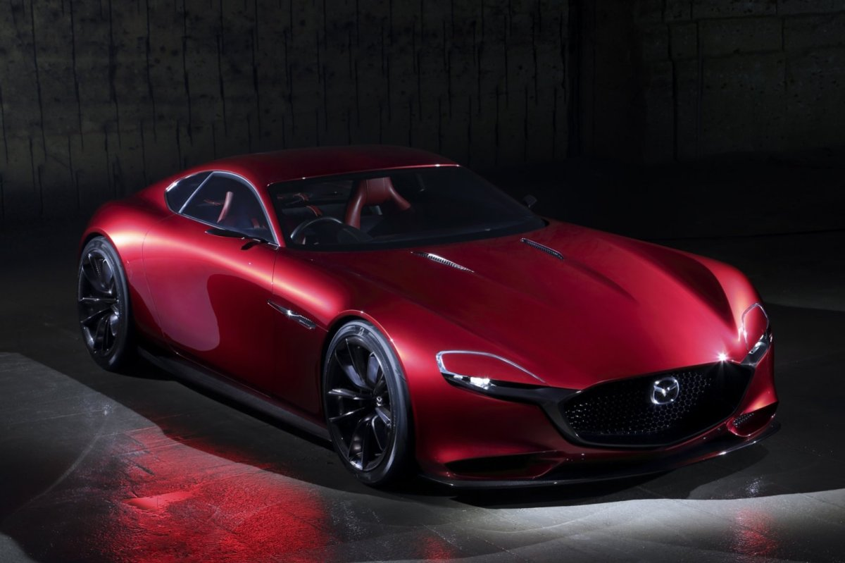 Mazda RX-Vision Wankelmotor Rood Concept Tokio 2015 14