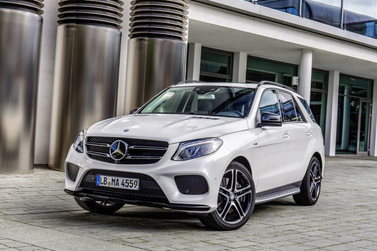 Mercedes GLE450 AMG Sport 4-Matic wit SUV 2016 01