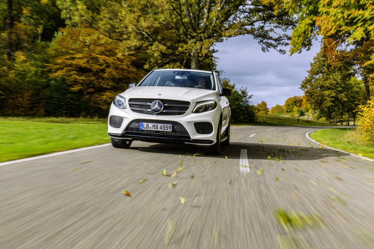 Mercedes GLE450 AMG Sport 4-Matic wit SUV 2016 08