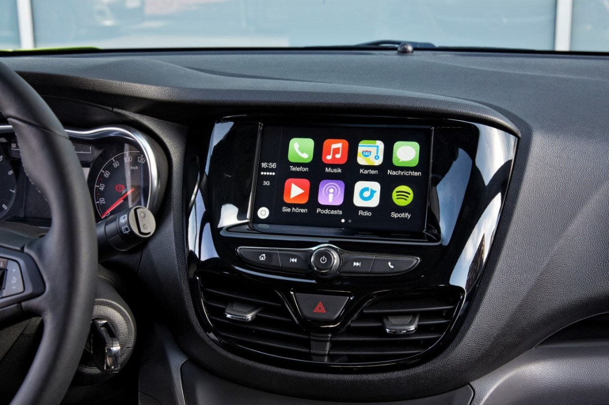 Opel Karl IntelliLink Android Apple Carplay Auto 02