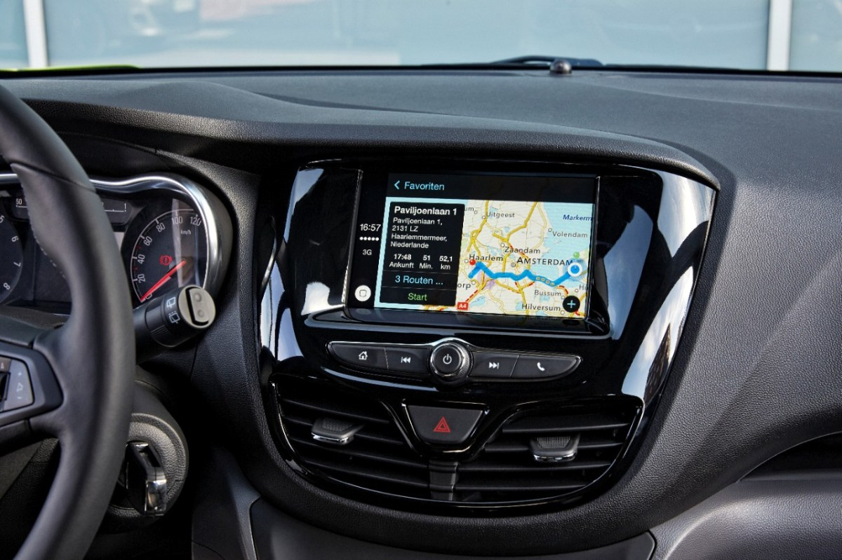 Opel Karl IntelliLink Android Apple Carplay Auto 03