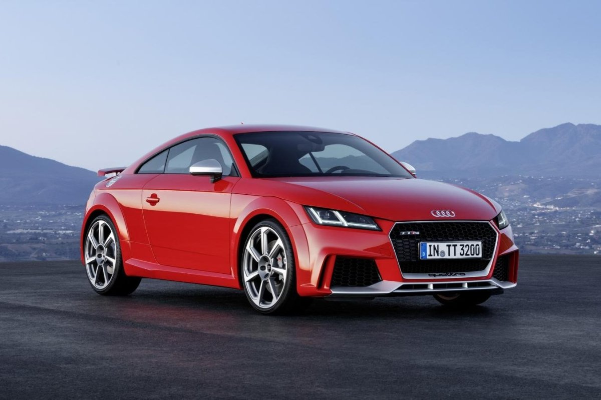 Audi TT RS Quattro Coupe Roadster rood geel 2017 22