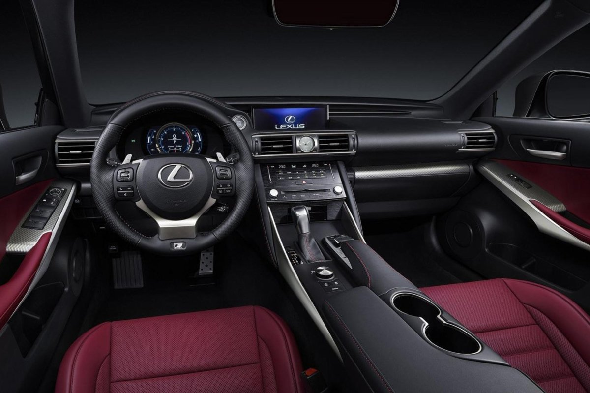 Lexus IS facelift 2017 08