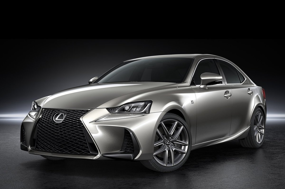 Lexus IS facelift 2017 16