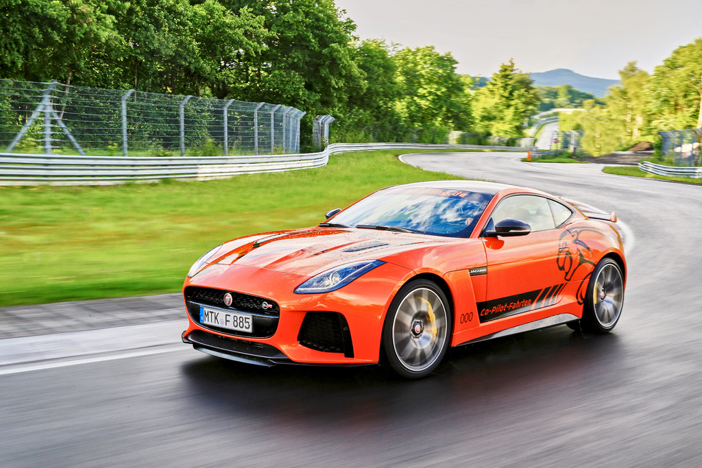 Jaguar F-Type SVR Ring-Cat Nuerburgring Nordschleife 07