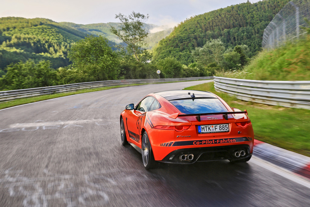 Jaguar F-Type SVR Ring-Cat Nuerburgring Nordschleife 10