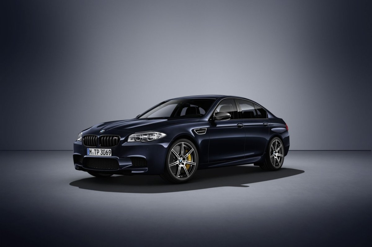 BMW M5 Competition Edition F10 2017 01