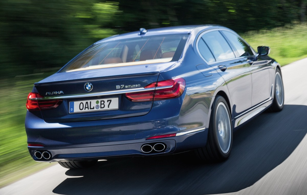 BMW ALPINA B7 BITURBO Press
