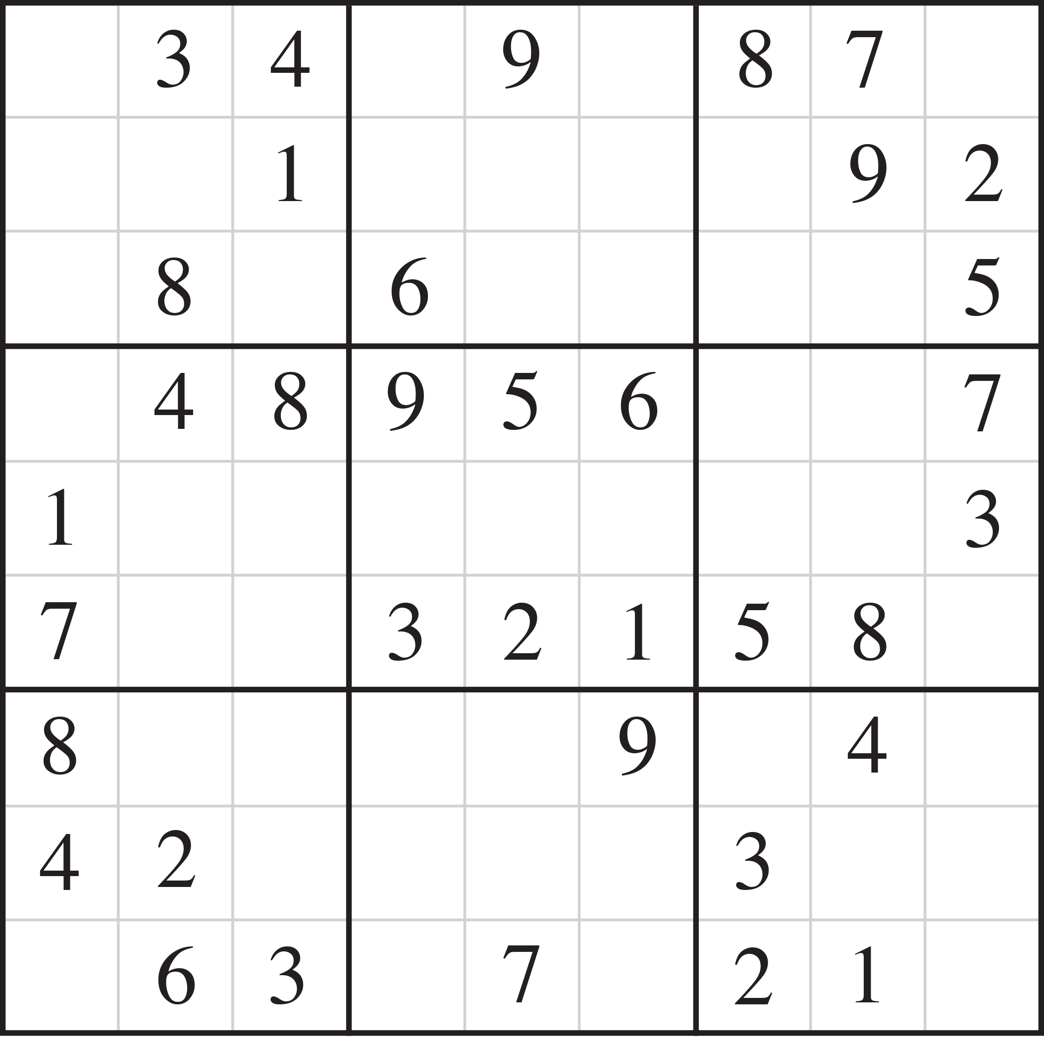 Puzzles And Answer Keys