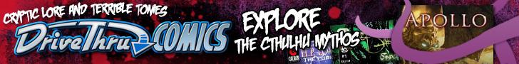 Cthulhu Mythos - Available Now @ DriveThruComics.com