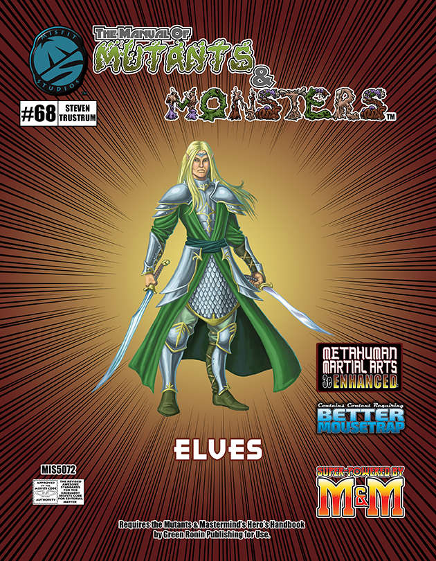 M&M 3e Manual of Mutants & Monsters
