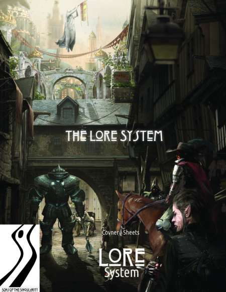 The Lore System is a narrative Basic Roleplaying system with elements of Gumshore and FATE thrown in.