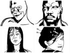 108 Terrible Character Portraits