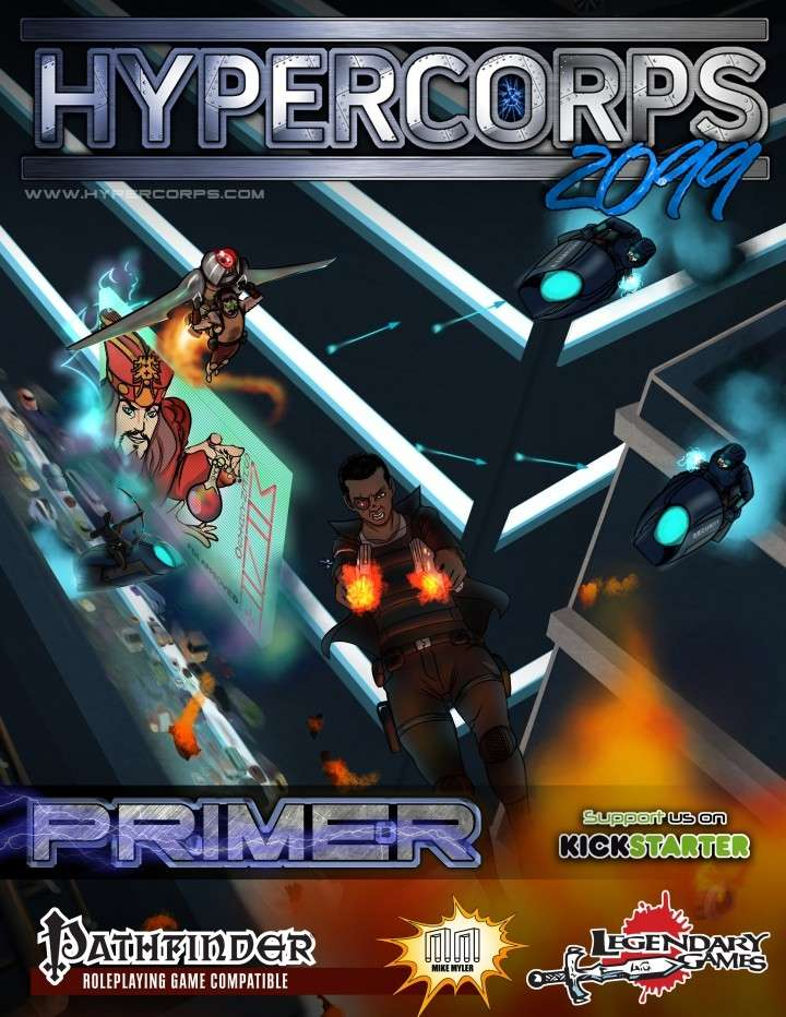 Setting: Hypercorps 2099 (Pathfinder / D&D 5E) – Blog of