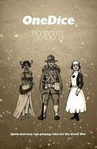OneDice WW1 Cover