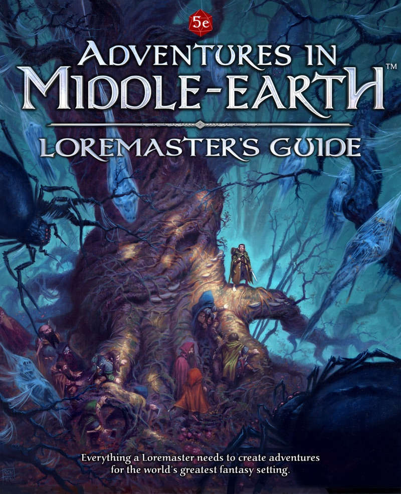 Image result for Adventures in Middle Earth: Loremaster's Guide board game