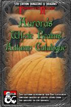 Aurora's Autumn Catalogue