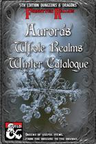 Aurora's Winter Catalogue