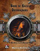 Book of Races: Daywalkers
