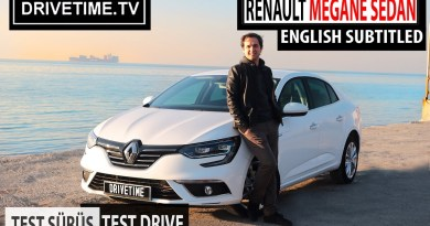 Renault Megane Sedan Icon Dizel Otomatik Test Sürüş Videosu