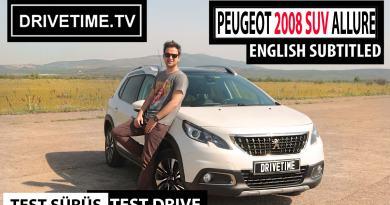Peugeot 2008 SUV Allure 1.6LT Dizel Otomatik 2017 Test Sürüş Videosu Yayında!