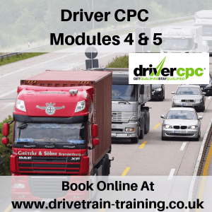 Driver CPC Modules 4 and 5 Tue 19 March 2019