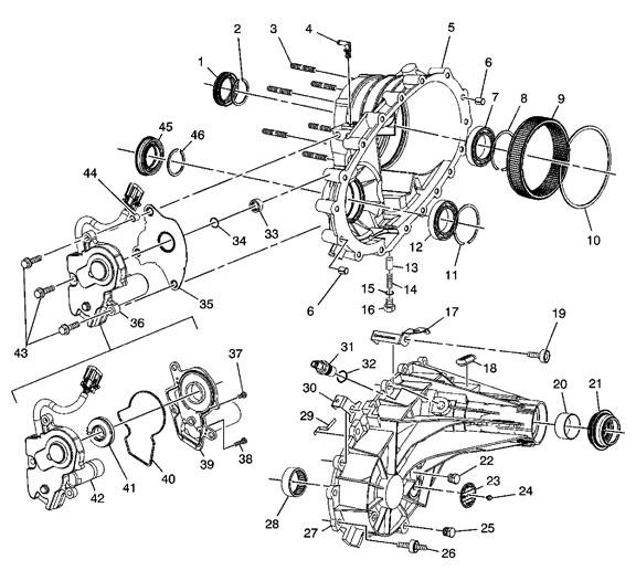 94 4l60e Automatic Transmission Diagram