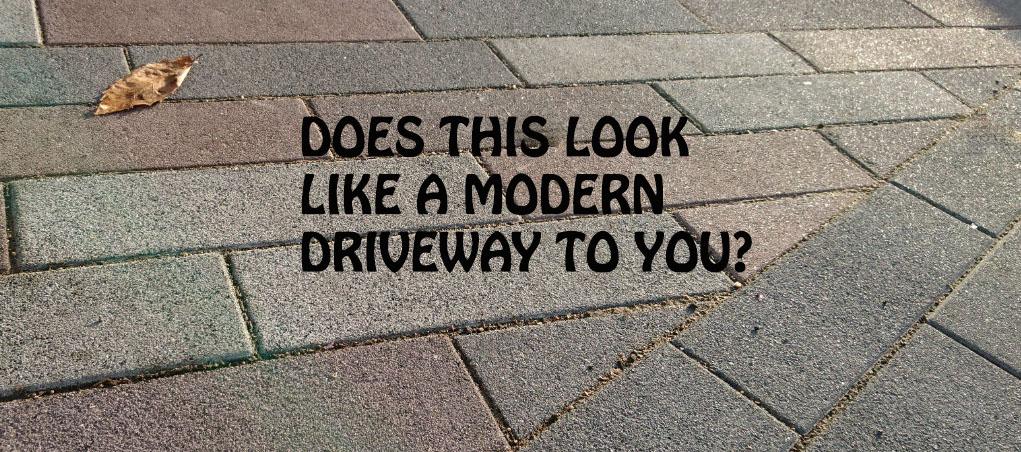 Modern Driveways