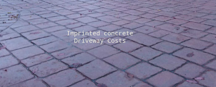 Imprinted Concrete Driveway Cost – How to Save Thousands