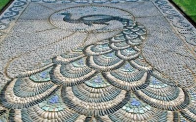 Mosaic Garden paths