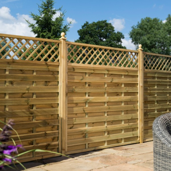 fence ideas wood