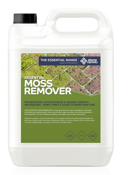 Moss Remover Driveway and Patio