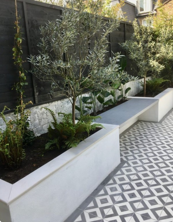Walled Garden Bedding Areas