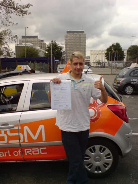 driving lessons north london pass first time