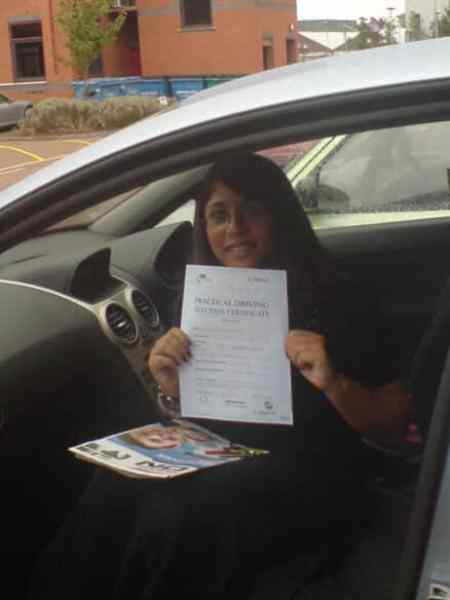 Rahnak passed her test