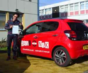 Driving Lessons Wood Green. Youness' review of Drive with Nik.