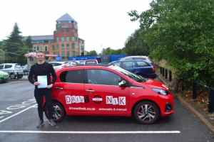 Manual Driving Lessons Southgate. George passed his manual driving test with Drive with Nik.