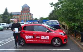 Manual Driving Lessons Southgate. George passed with Drive with Nik.