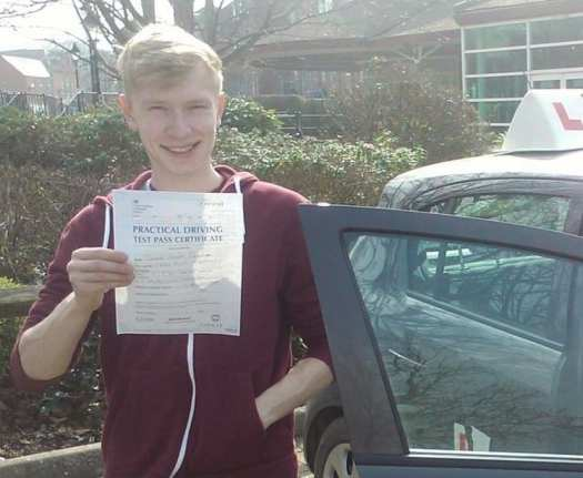 driving lessons Troon - Thomas Paterson