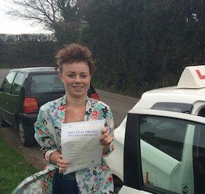 driving lessons dalry - Chantelle Winters