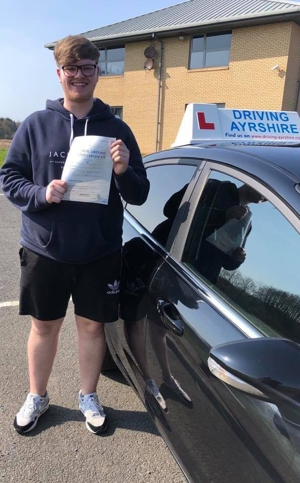 Irvine driving test pass - James McClelland