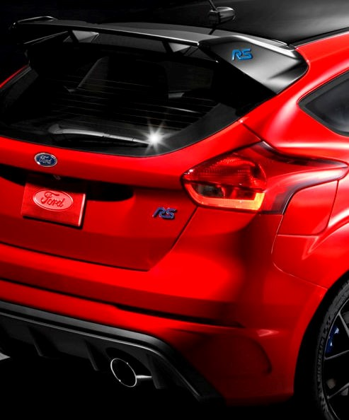 2018 Ford Focus RS Limited Edition for North America