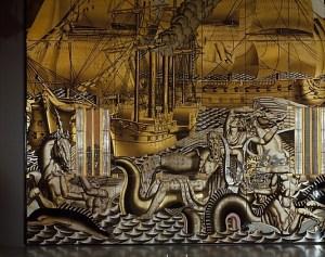 "Portion of Jean Dupas ""The History of Navigation"""