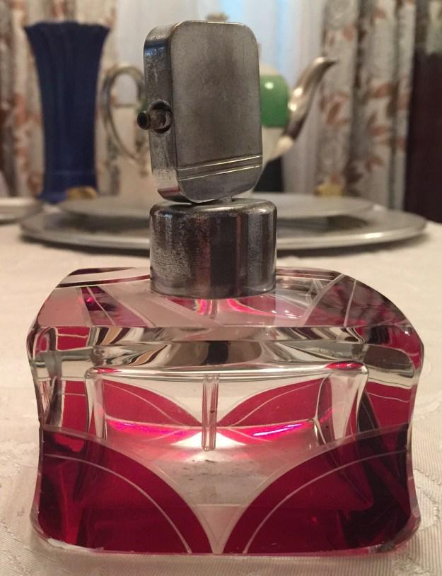 Deco perfume bottle