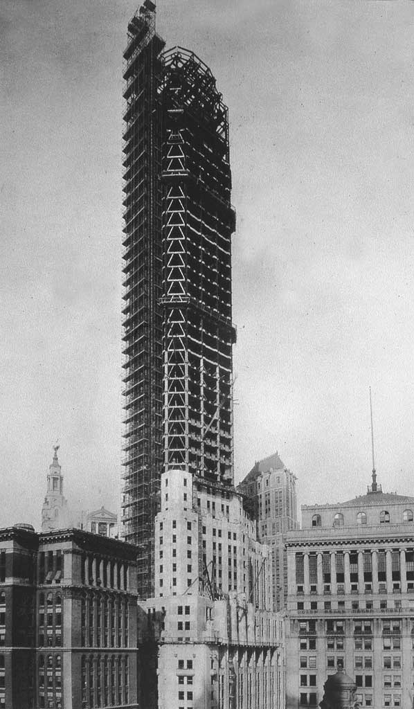City Bank-Farmers Trust Building under construction in 1930