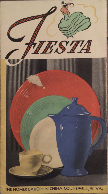 1937 Fiestaware Price List