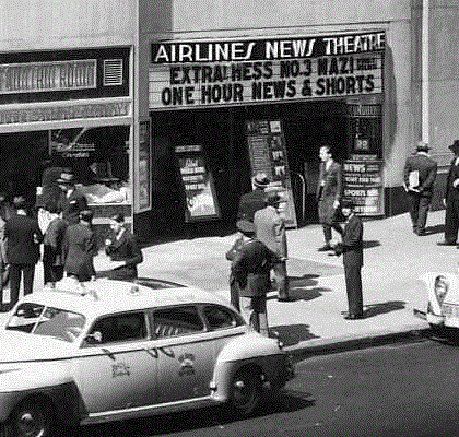 Newsreel Theatre, Airlines Terminal