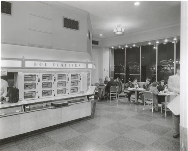 Automat in the Airlines Building.