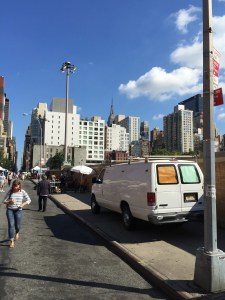 Hell Kitchen Flea Market Manhattan