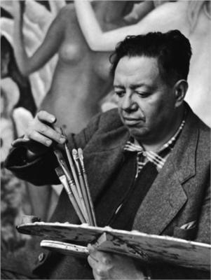 Diego Rivera portrait